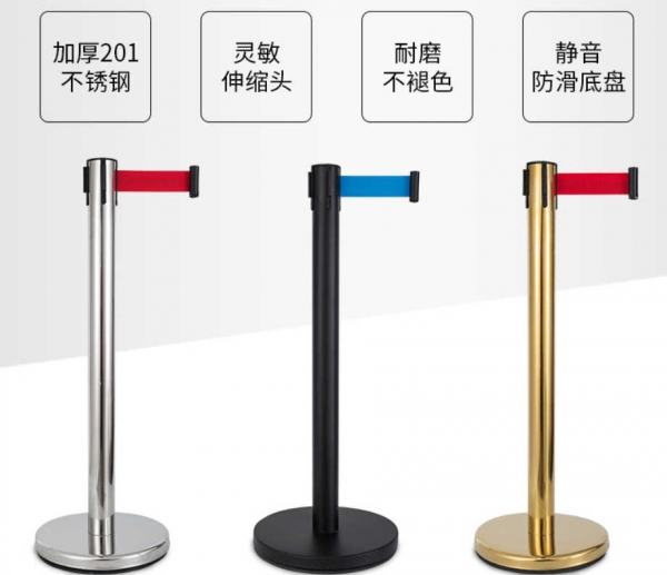 不锈钢警戒护栏
